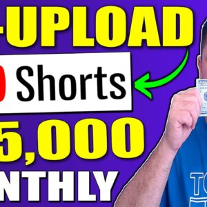 How to Make Money With YouTube Shorts WITHOUT Making Videos Yourself From Scratch