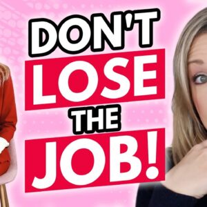 3 Common Job Interview Mistakes You HAVE TO STOP MAKING!