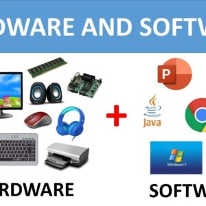 COMPUTER HARDWARE AND SOFTWARE COMPUTER FUNDAMENTALS FOR CHILDREN