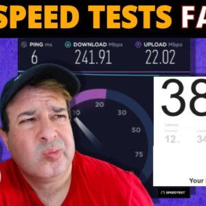 Do Internet Speed Tests REALLY measure your Internet speed
