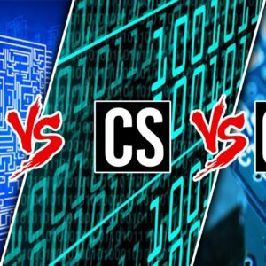 Electrical Vs Computer Engineering Vs Computer Science A Side
