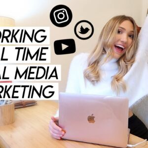 HOW TO GET A JOB IN SOCIAL MEDIA MARKETING! What It's Like, Skills, and More!