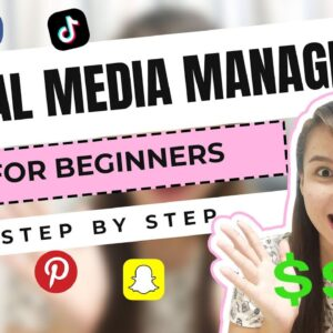 How to Become a Social Media Manager | Step-by-Step Guide for BEGINNERS | NO EXPERIENCE [Eng Sub]