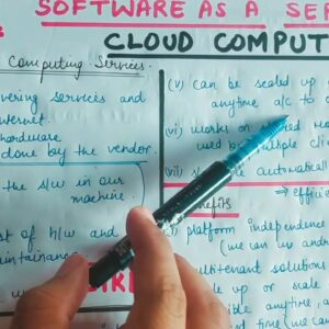 Lecture -6 Software as a Service in Cloud Computing || Saas in Cloud Computing
