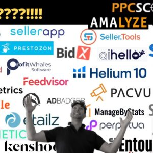 Review of ALL Amazon Advertising Tools | Find the best Amazon Ads Software! (big surprise!)