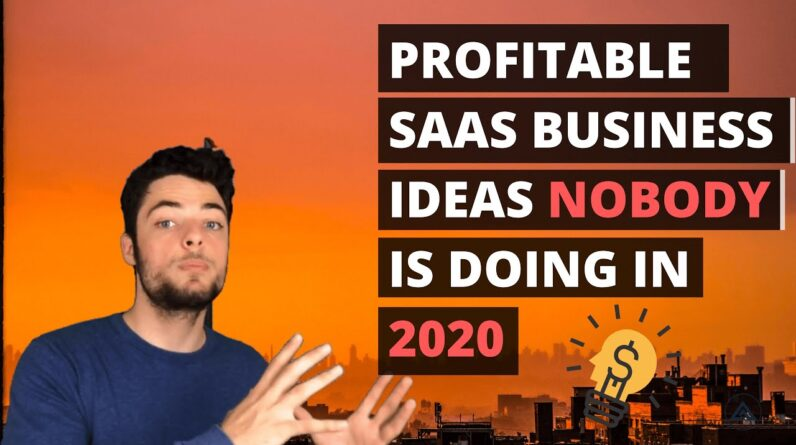 Software Startup Ideas in 2020 | SaaS