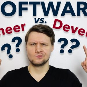 The Difference Between A Software Engineer And A Software Developer