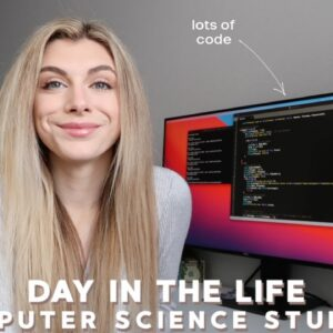day in the life of a college student studying computer