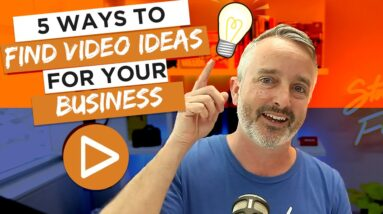 How to Get VIDEO CONTENT IDEAS for Business