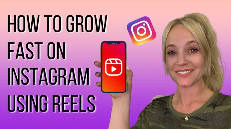 How To Grow FAST On Instagram Using Reels  - 13,200 Followers In ONE MONTH