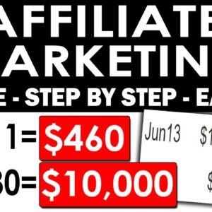 How To Start Affiliate Marketing For Beginners 2021 Using FREE Traffic & Your Email ($460 Per Day)
