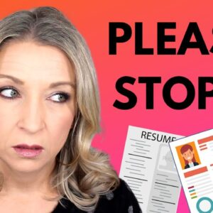 Resume Writing MISTAKES! Functional Resumes, Photos and MORE!