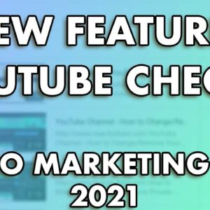 YouTube Checks - New Feature While Uploading Videos