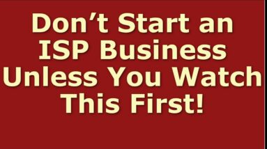 How to Start a ISP Business Including Free ISP