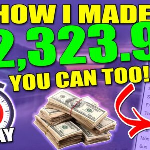 This Made Me $2,300 in a Month - Easiest Affiliate Marketing Strategy - Only 30mins a day Needed!