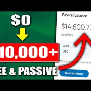 How to make passive income Online For FREE Using One Website To Earn $10,000/Mo (PROOF)