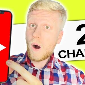 How to Create A Second YouTube Channel on Phone (2 EASY WAYS)