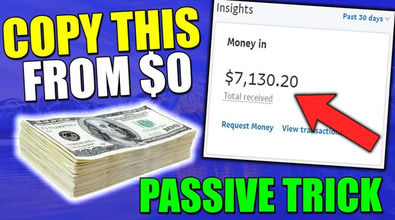 Copy This Affiliate Marketing for beginners Trick to make $7,000/Mo Passively (START TODAY)